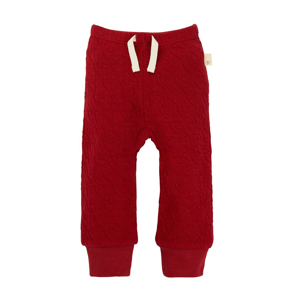 Baby Boy Burt's Bees Baby Organic Quilted Pants