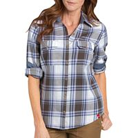 Women's Dickies Plaid Shirt