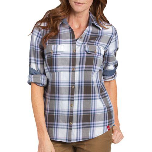 Women's Dickies Plaid Shirt