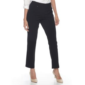 Women's Napa Valley Solid Tapered Leg Pants