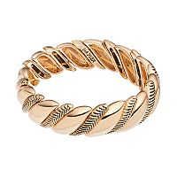Napier Textured Rope Stretch Bracelet