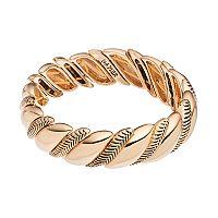Napier Textured Rope Stretch Bracelet
