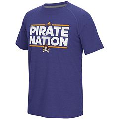 Men's adidas East Carolina Pirates Dassler City Nickname Tee