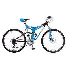 Men's Titan 26-Inch Glacier-Pro Alloy Dual-Suspension All-Terrain Mountain Bike