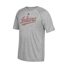Men's adidas Indiana Hoosiers Linear Play Logo Tee