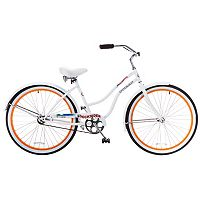 Women's Titan 26-Inch Docksider Beach Single-Speed Cruiser Bike