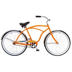 Men's Titan 26-Inch Docksider Beach Single-Speed Cruiser Bike