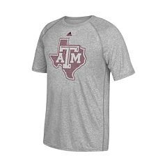 Men's adidas Texas A&M Aggies Linear Play Logo Tee