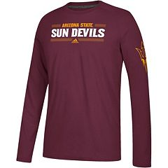 Men's adidas Arizona State Sun Devils Linear Bar Tee