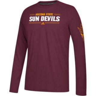 Men's adidas Arizona State Sun Devils Linear Bar Tee