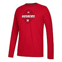 Men's adidas Nebraska Cornhuskers Football Force Tee