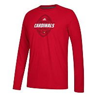 Men's adidas Louisville Cardinals Football Force Tee