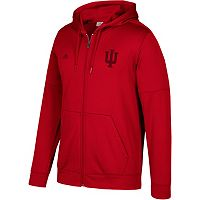 Men's adidas Indiana Hoosiers Tonal Team Logo climawarm Hoodie