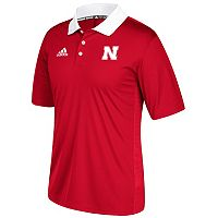 Men's adidas Nebraska Cornhuskers Coaches Polo