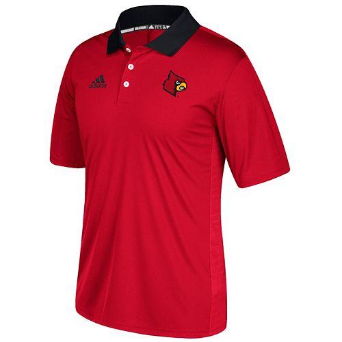 Men's adidas Louisville Cardinals Coaches Polo
