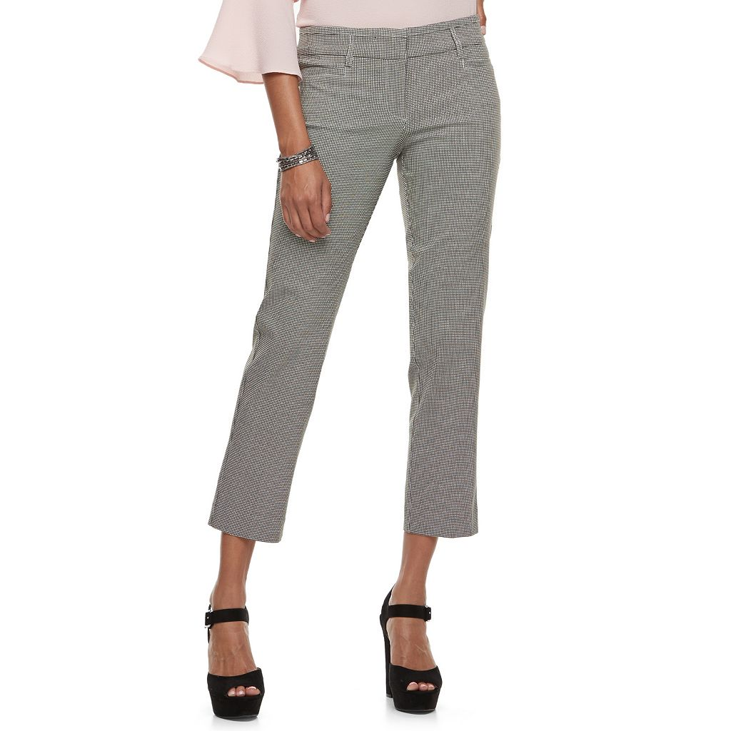 Juniors' Candie's® Audrey Crop Dress Pants