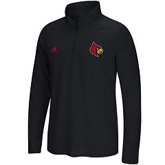 Men's adidas Louisville Cardinals Sideline Basic Pullover