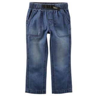 Boys 4-8 Carter's Buckled Denim Pants