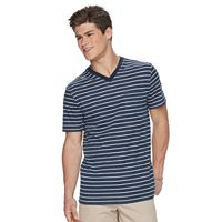 Men's Urban Pipeline® Striped V-Neck Tee