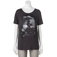 Disney's The Little Mermaid Juniors' Ariel Shadow Graphic Tee