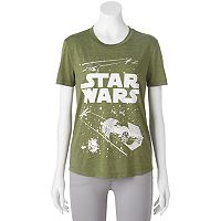 Juniors' Star Wars Fight Scene High-Low Graphic Tee