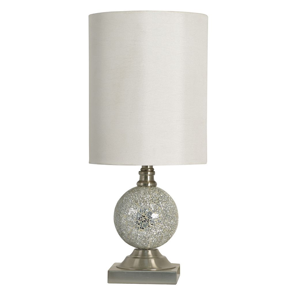 Decor Therapy Mosaic Glass Table Lamp