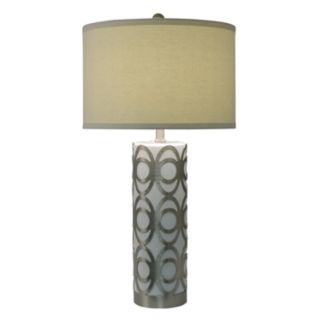 Decor Therapy Geometric Table Lamp