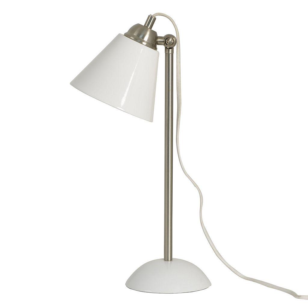 Decor Therapy Glossy Desk Lamp