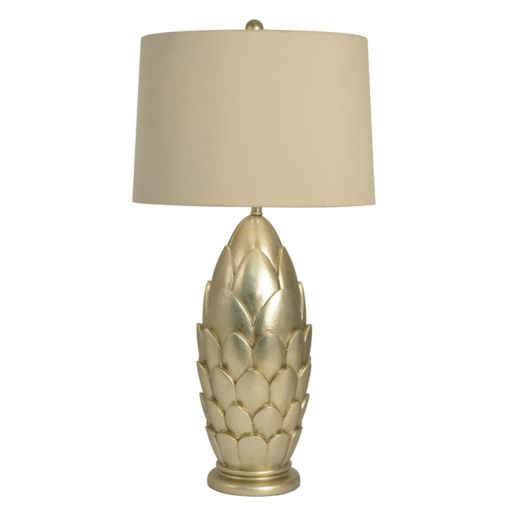 Decor Therapy Modern Leaf Table Lamp