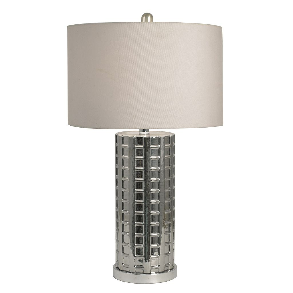 Decor Therapy Luster Glass Table Lamp
