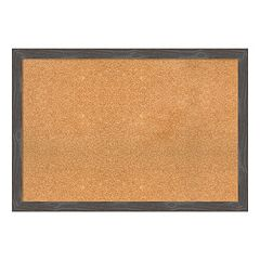 Amanti Art Large Framed Cork Board Wall Decor