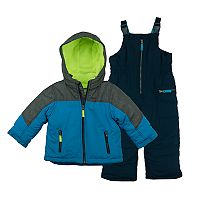 Baby Boy Carter's 2 pc Colorblock Jacket & Snow Pants Set