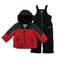 Baby Boy Carter's 2-pc. Colorblock Jacket & Snow Pants Set