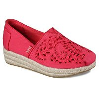 Skechers BOBS Highlights Sun Flower Women's Espadrille Wedges