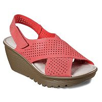 Skechers Cali Parallel Infrastructure Women's Wedge Sandals