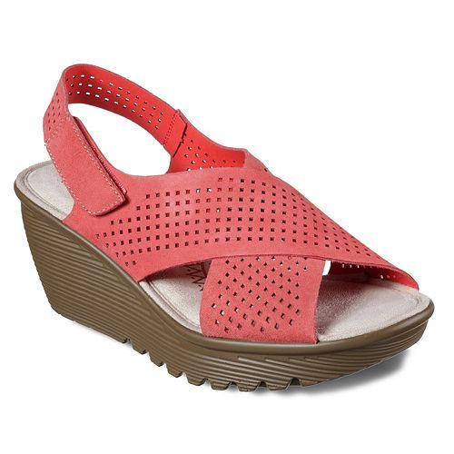 Skechers Cali Parallel Infrastructure Women's Wedge Sandals