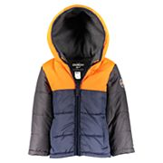 Baby Boy OshKosh B'gosh® Quilted Colorblock Heavyweight Puffer Jacket