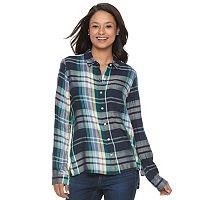 Juniors' SO® High-Low Shirt