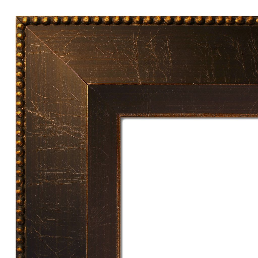 Amanti Art Bronze Finish Framed Cork Board Wall Decor