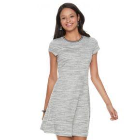 Juniors' SO® Ribbed T-Shirt Dress