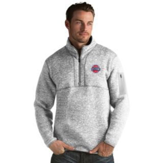 Men's Antigua Detroit Pistons Fortune Pullover