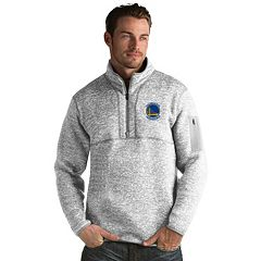 Men's Antigua Golden State Warriors Fortune Pullover