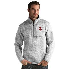 Men's Antigua Houston Rockets Fortune Pullover