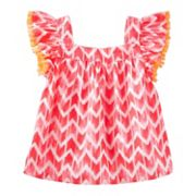 Toddler Girl OshKosh B'gosh® Print Fringe Top