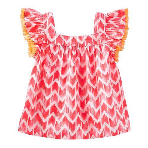 Toddler Girl OshKosh B'gosh® Print Fringe Top