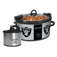 Crock-Pot Cook & Carry Oakland Raiders 6-qt. Slow Cooker Set