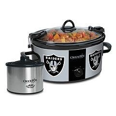 Crock-Pot Cook & Carry Oakland Raiders 6-qt. Slow Cooker Set