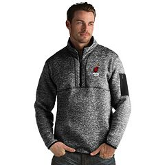 Men's Antigua Miami Heat Fortune Pullover