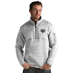 Men's Antigua New Orleans Pelicans Fortune Pullover