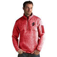 Men's Antigua Portland Trail Blazers Fortune Pullover